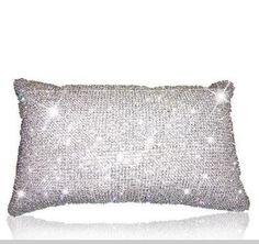 Czech Cut Crystal Pillow www.AmourRocks.com