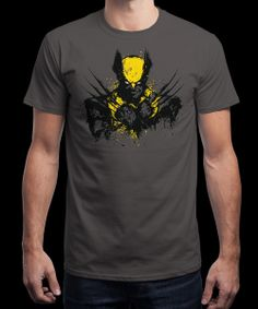"""""""Mutant Rage"""" is today's £8/€10/$12 tee for 24 hours only on www.Qwertee.com Pin this for a chance to win a FREE TEE this weekend. Follow us on pinterest.com/qwertee for a second! Thanks:)"""
