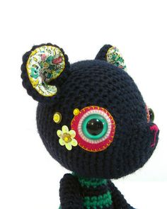 navy blue bear 4 by ElisabethD, via Flickr