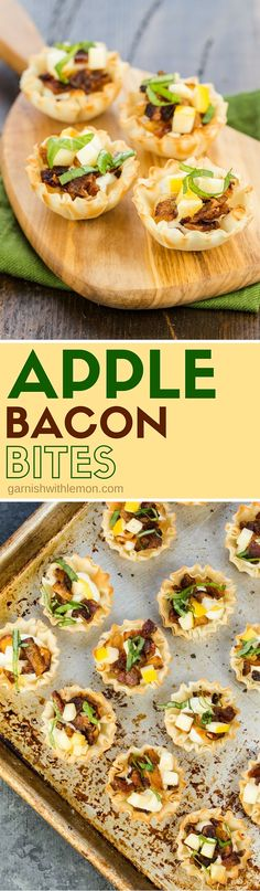 These Apple Bacon Bites are a little bit sweet, a little bit savory & a whole lotta good! Make extra as they'll be the hit of your next appetizer spread.