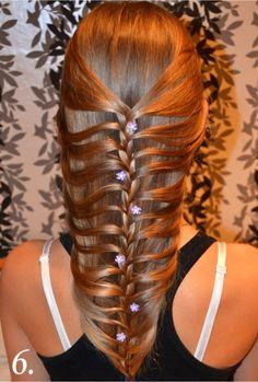 DIY Fishtail Braid / Mermaid Braid Hairstyle