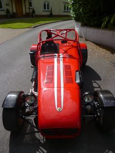 Caterham Super 7, Caterham Seven, Lotus Sports Car, Lotus 7, Vintage Sports Cars, Kit Cars, Vroom Vroom, Sport Cars, Classic Cars