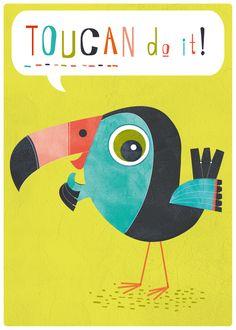 Toucan Do It! on Behance