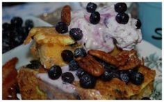 Blueberry French Toast Bread