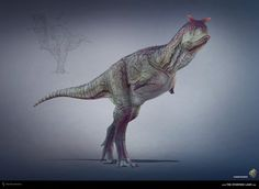 Carnotaurus. The Stomping Land. 03 by Swordlord3d on DeviantArt