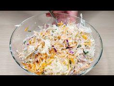 Sosem unom meg ezt a salátát! Imádni fogja ezt az egyszerű receptet. # 54 - YouTube Creamy Chicken Spinach Pasta, Salad Recipes, Healthy Recipes, Finger Food Appetizers, Summer Salads, Creative Food, Entrees, Food To Make, Tired