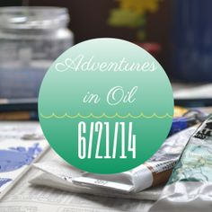 Adventures in Oil 6/2--join me as I start painting with oil paint again! Check out my two latest mini paintings.