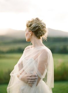 Outdoor Summer Bridal Portrait Session
