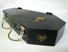 Coffin Hand Bag.