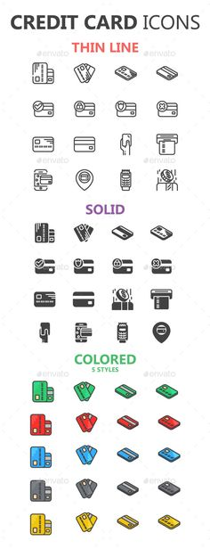 Credit Card Icons in 3 Styles – S. Digital Marketing Credit Card Icons in 3 Styles – S. Credit Card Icon, Credit Card Design, Business Credit Cards, Best Credit Cards, Credit Score, Corporate Logo Design, Card Drawing, Credit Card Offers, Icon Design
