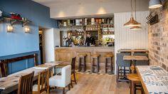 The Scran & Scallie good food, pub w/ local beer, kids playroom. Stockbridge