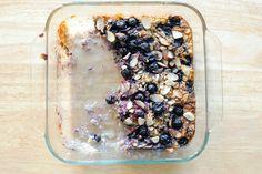 blueberry oatmeal breakfast crumble