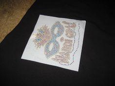 DIY Mardi Gras Colorful Rhinestone Mask Heat by cthorses66 on Etsy, $8.00