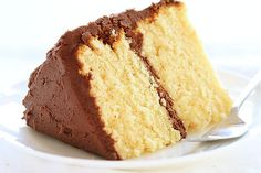 Homemade Yellow Cake! Mah Favorite - definitely gonna make right meow!!