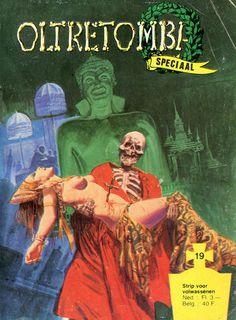 Cover for Oltretomba speciaal (De Vrijbuiter; De Schorpioen, 1973 series) #19