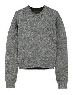 Alexander Wang Metallic knitted sweatshirt