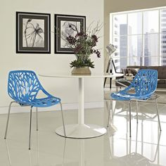 $144.75 Modway Stencil Dining Side Chair Set of 2
