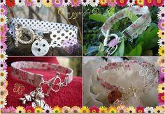 Bracelets en Liberty ou à pois