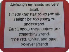 4th of July Poems for Soldiers, Preschoolers, Church, Infants |