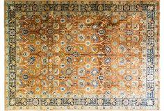 "Persian Tabriz Carpet, 9'1"" x 12'10"""