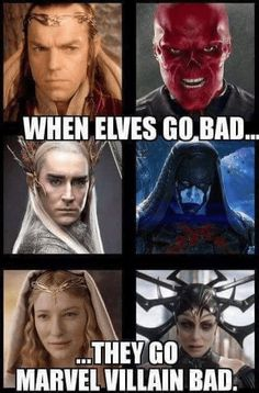 meme about lotr elves' actors playing villains in Marvel movies Memes about the elves of the lotus & # Actors play villains in Marvel films Avengers Humor, Marvel Jokes, Marvel Avengers, Hero Marvel, Films Marvel, Funny Marvel Memes, Marvel Villains, Dc Memes, Marvel Dc Comics