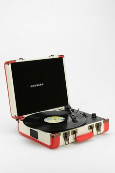 Crosley CR6019A-BR Executive USB Portable Turntable #urbanoutfitters #turntable