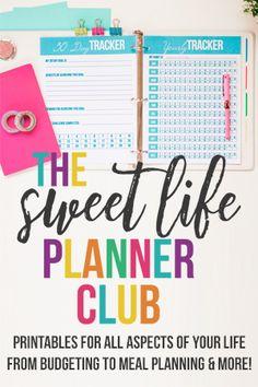 Sweet Life Planner Club