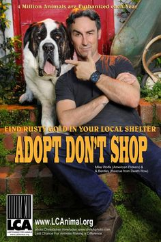 American Pickers' Mike Wolfe Joins Adopt Don't Shop Campaign