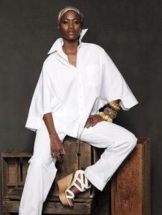Jean Paul Gaultier poplin shirt