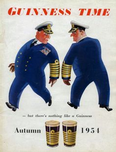 guinness autumn | Guinness Time Autumn 1954