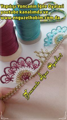 Needle Lace, Baby Knitting Patterns, Knitting Needles, Tatting, Origami, Crochet Necklace, Stockings, Youtube, Model