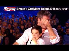 Simon Cowell and son Eric who Steals the Show Britain's Got Talent 2018 Semi Final BGT Simon Cowell Son, Britain Got Talent, Season 12, Semi Final, Lady And Gentlemen, Gentleman, Looks Great, Sons, Humor
