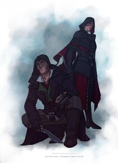 Assassin's Creed Syndicate, Jacob Frye, Evie Frye are owned . Assassin's Creed Syndicate - Jacob and Evie Frye Assassins Creed Quotes, Assassins Creed Jacob, All Assassin's Creed Characters, Jacob And Evie Frye, Character Concept, Character Art, Asesins Creed, Assassin's Creed Wallpaper, Royal Blood