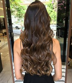 63 stunning examples of brown ombre hair - Hairstyles Trends Cabelo Ombre Hair, Ombre Curly Hair, Brown Ombre Hair, Brown Hair Balayage, Brown Blonde Hair, Hair Color Balayage, Brunette Hair, Hair Highlights, Dyed Hair