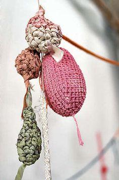 Mary Tuma crochet art series