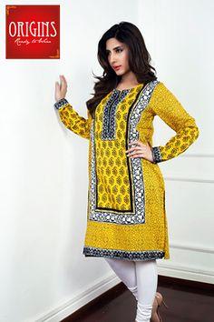 Latest Women Kurta Design 2016 for Summer | Pakistani Designers Kurtis - StyleGlow.com