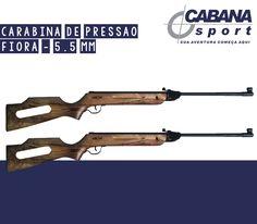 Carabina de Pressão Fiora. Acesse: http://www.lojacabanasport.com.br/categoria/armas-de-pressao-carabina-de-pressao-5-5-carabina-de-pressao-5-5-fiora/3719