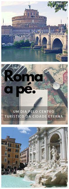 Um roteiro de um dia pelo centro turístico de Roma. Conheça as principais atrações, que não podem ficar de fora do seu roteiro!