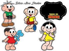 Magali Melancia, Aniversario Turma Da Monica, Festa Turma Da Mônica,  Bandeirinhas, 3 f1b4588039