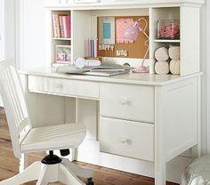 Madeline Storage Desk & Hutch