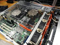 Two 8 core Xeon E5s with 96GBs of RAM... we know you totally want one of these babies...it's awesome :) http://www.serverpoint.com/