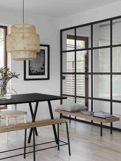 Stålglasparti / Industrifönster från BLOOC_