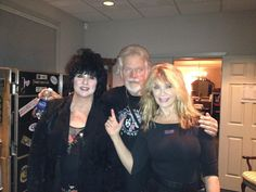 Randy Bachman, Ann and Nancy / HEART  at Ironstone Vineyards before a concert