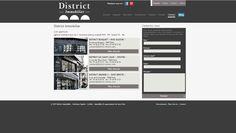 Site web, ergonomie, charte graphique et conception rédaction - Website, ergonomics, graphics standards and conception writing. #webdesign #immmobilier #paris #hautdegamme #siteweb #sitemobile