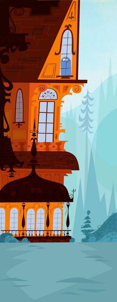 Carol Wyatt animation art for Foster's Home for Imaginary Friends