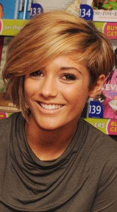 Frankie Sandford's Hair Has A Warm Chesnut Feel, 2010