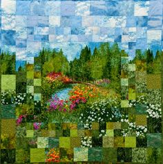 Monet's Garden: Impressionism and Quilting