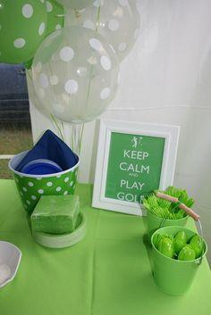 "Photo 1 of 21: Golf / Birthday ""Golf Birthday Par-Tee"" | Catch My Party"