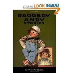 """All the original stories are here, as Raggedy Andy arrives in the mail at Marcella's father's office, displays his cheery smile, and is eagerly reunited with his sister, Raggedy Ann. After a warm welcome from the other dolls, Raggedy Andy adds to their fun with a dance, a pillow fight, and a taffy pull. His merry escapades frequently show his generosity in helping others, as he bravely ventures into the gutter to find the penny dolls, """"cures"""" the French doll, and encourages the wooden horse…"""
