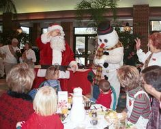 Breakfast with Santa at the Saint Louis Zoo! December 1-2, 8-9, 15-16, 2012